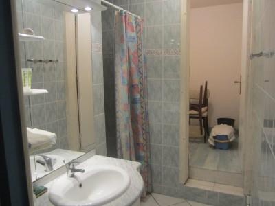 Salle de bain du meublé